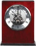 Rosewood Piano Finish Square Clock Boss Gift Awards