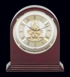 Plymouth Rosewood Piano Finish Desktop Clock Boss Gift Awards