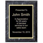Improved Black Marble Plaque Marble Awards